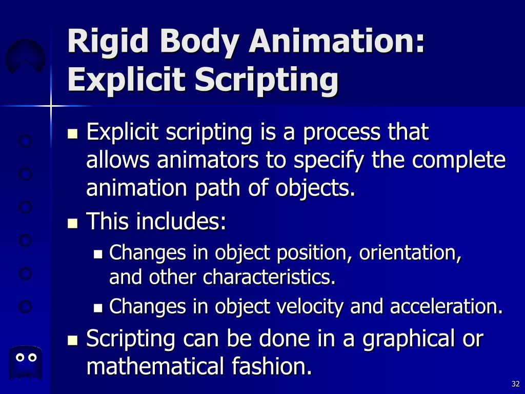 Rigid Body Animation: