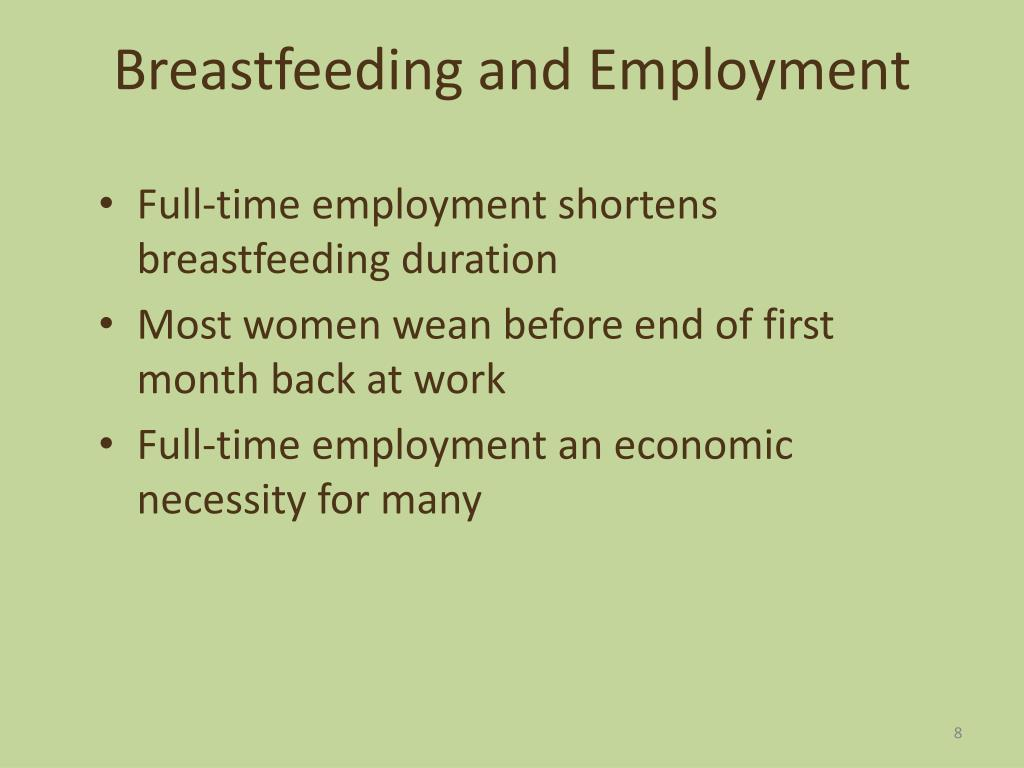 Breastfeeding and Employment