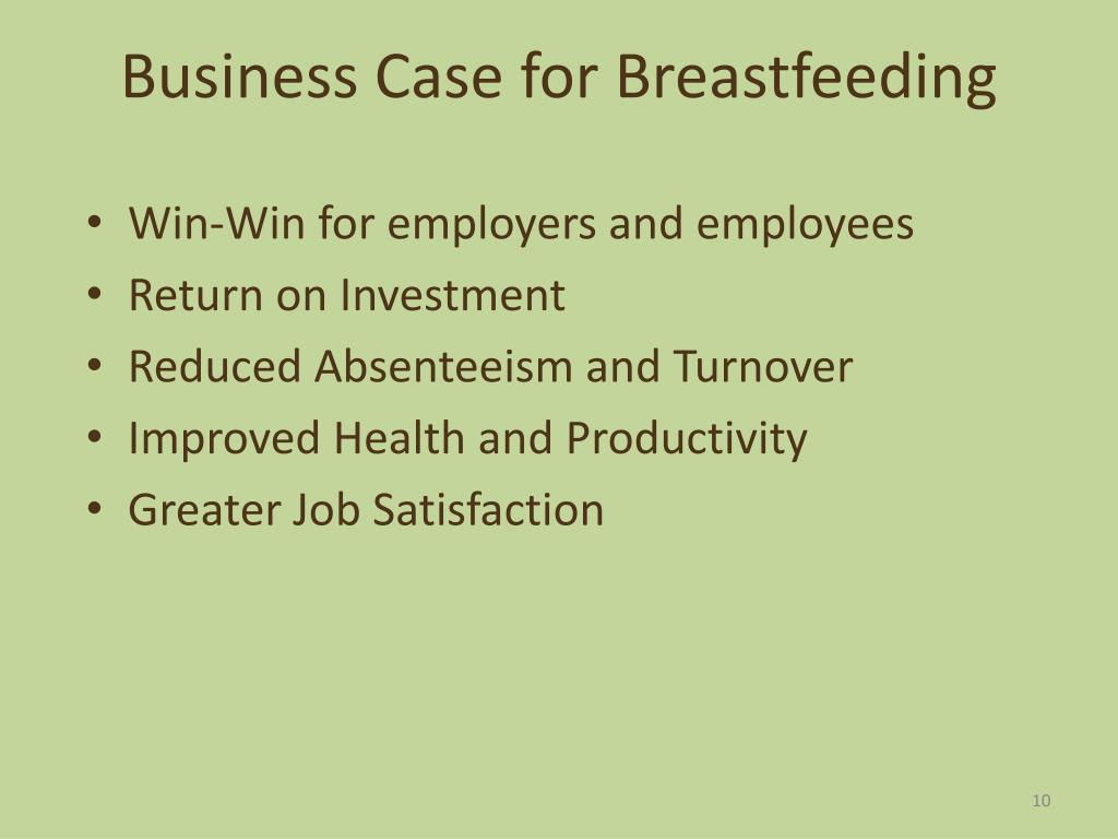 Business Case for Breastfeeding