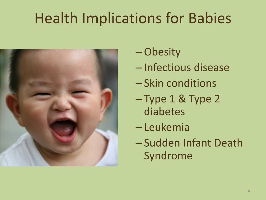 Health Implications for Babies