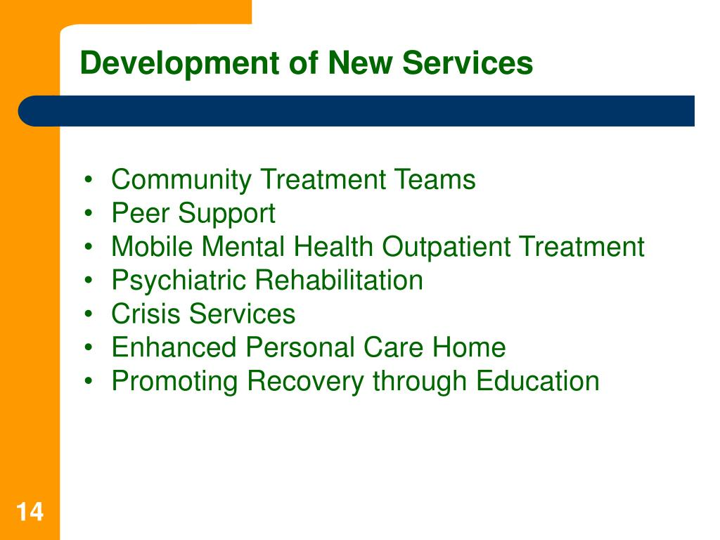 Development of New Services