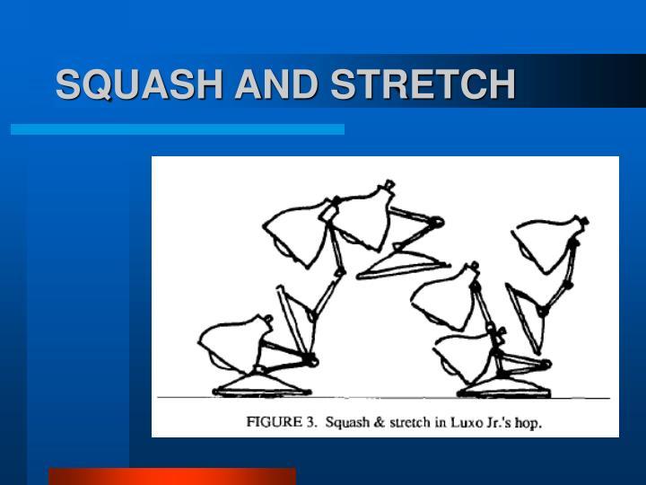 SQUASH AND STRETCH