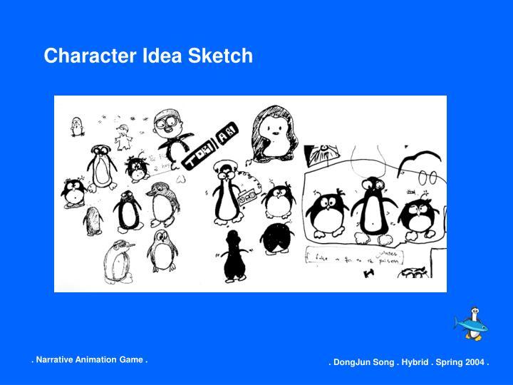 Character Idea Sketch