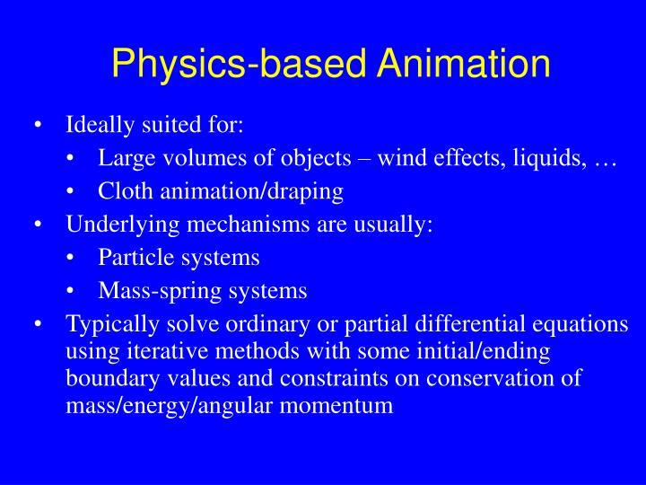 Physics-based Animation