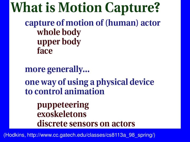 (Hodkins, http://www.cc.gatech.edu/classes/cs8113a_98_spring/)