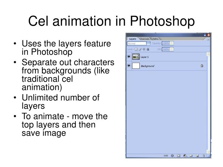 Cel animation in Photoshop