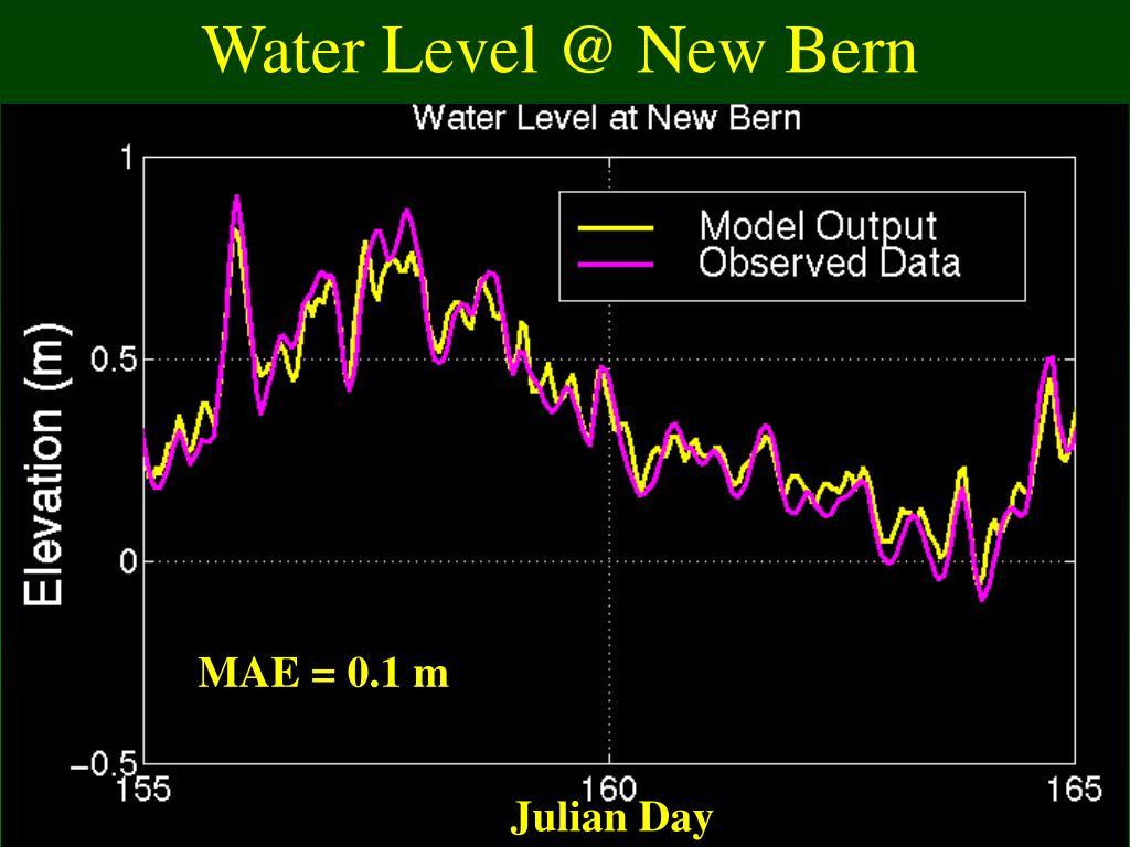 Water Level @ New Bern