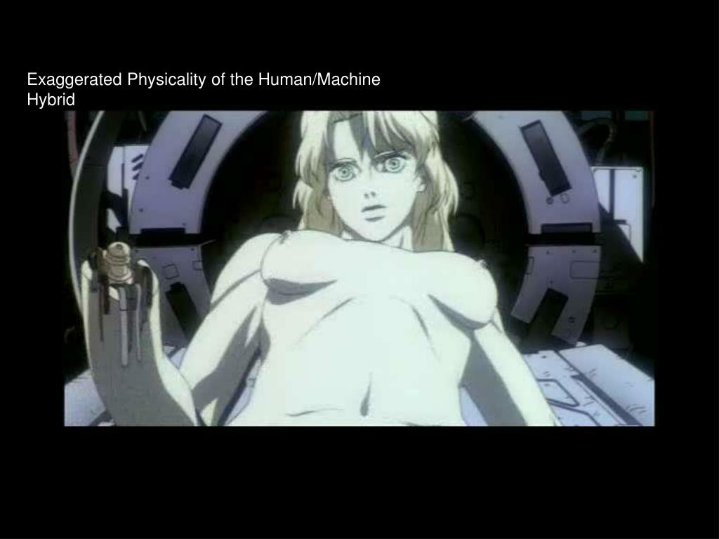 Exaggerated Physicality of the Human/Machine Hybrid