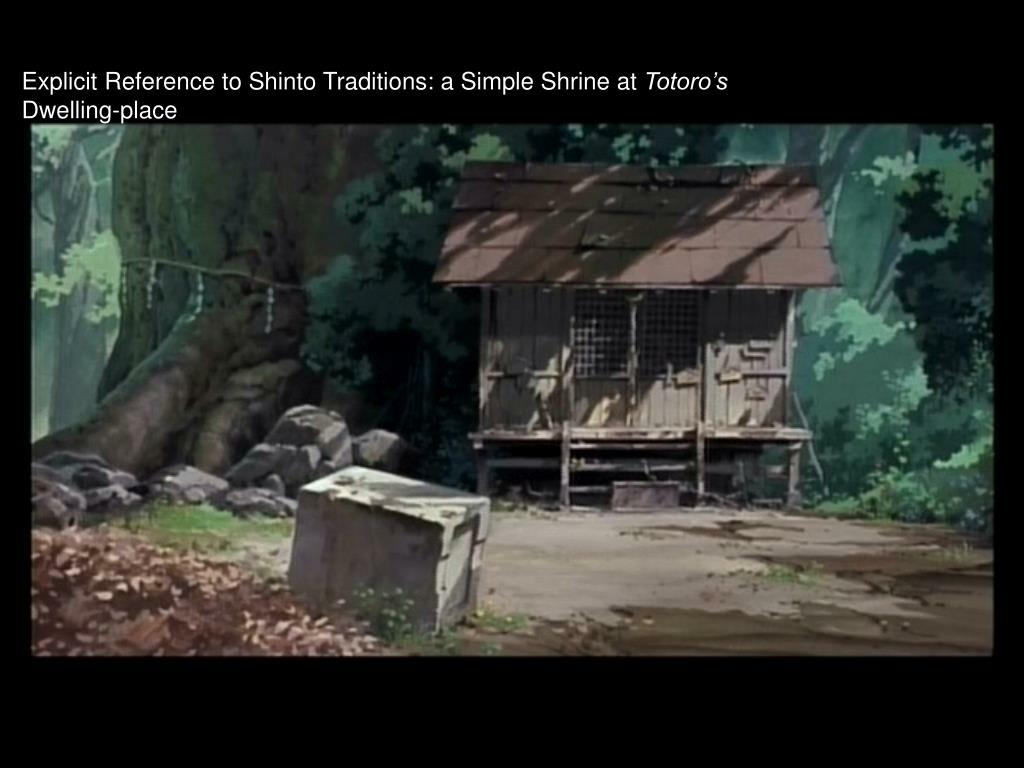 Explicit Reference to Shinto Traditions: a Simple Shrine at