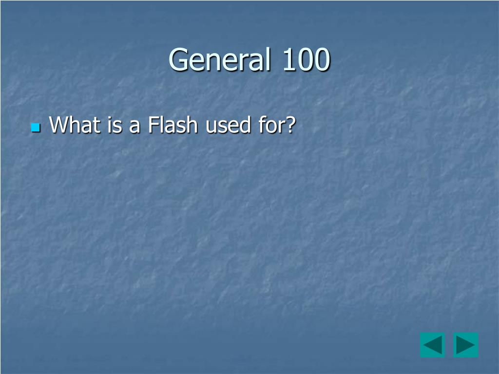 General 100