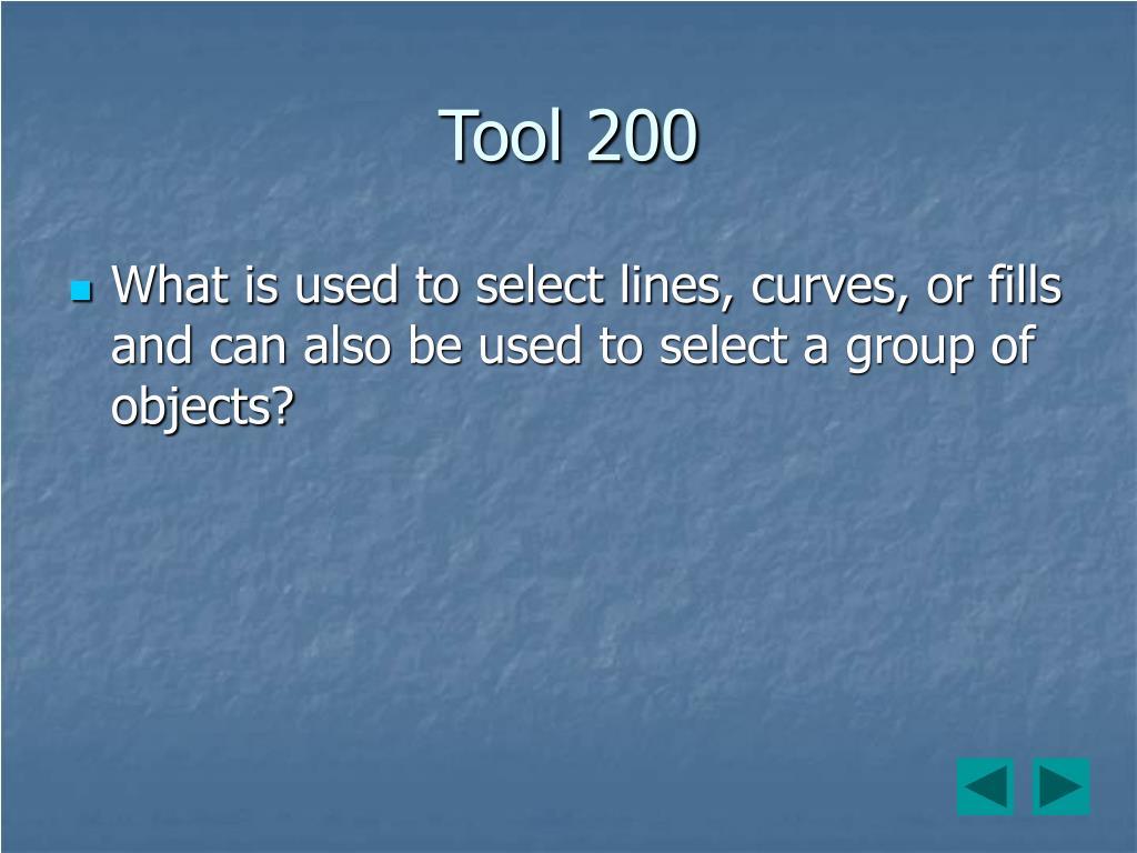 Tool 200
