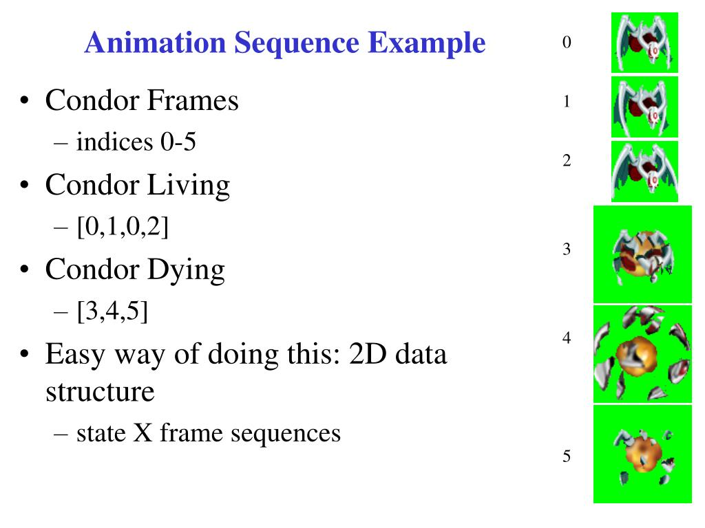 Animation Sequence Example