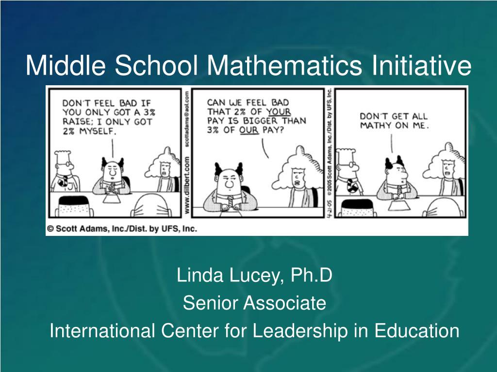 Middle School Mathematics Initiative