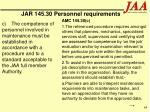 jar 145 30 personnel requirements64