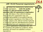 jar 145 30 personnel requirements84