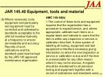 jar 145 40 equipment tools and material110