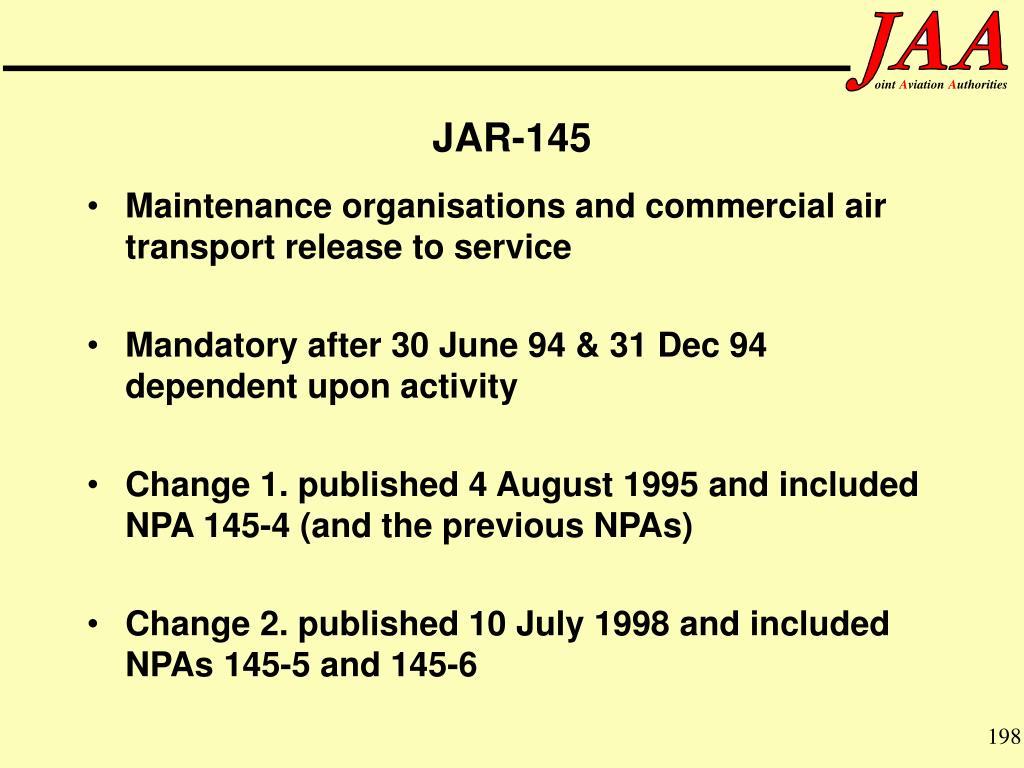 JAR-145