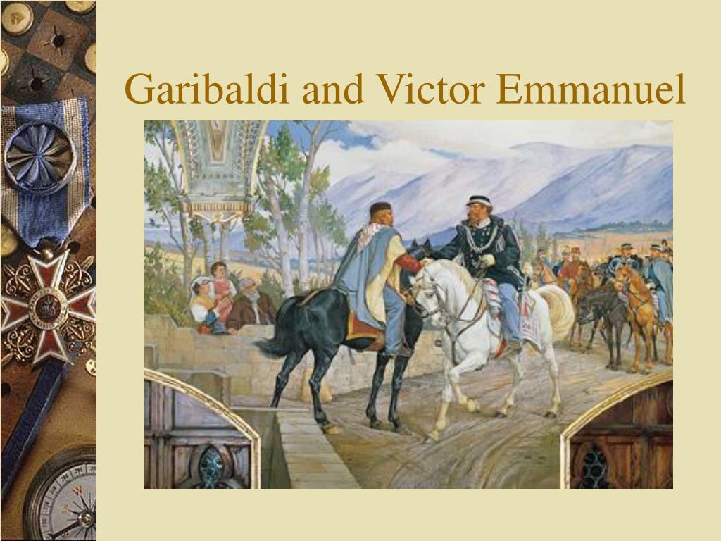 garibaldi and victor emmanuel meet