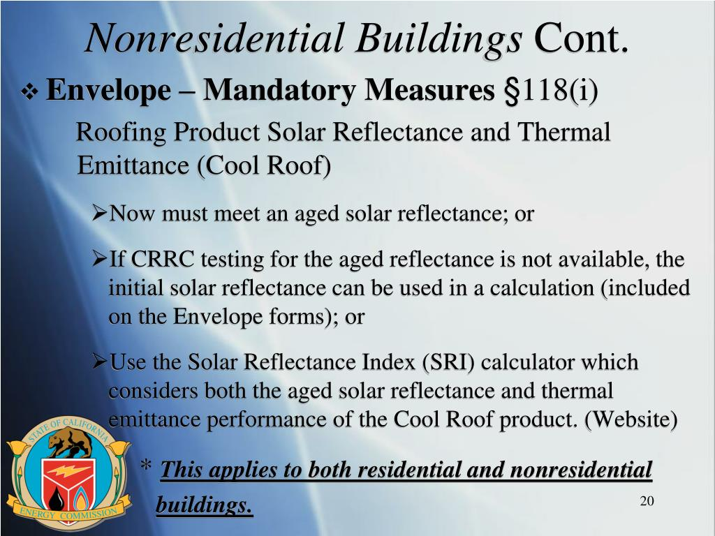 Nonresidential Buildings