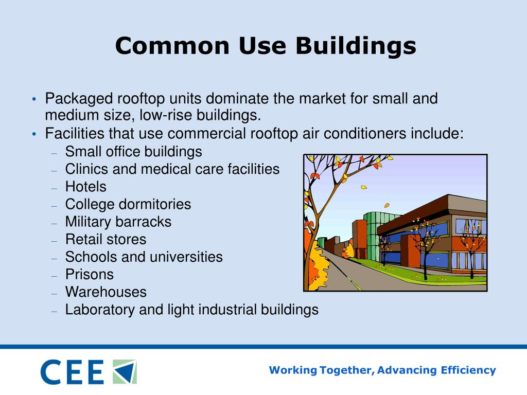 Common Use Buildings