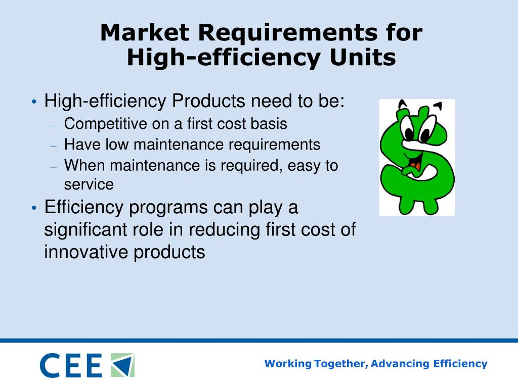 Market Requirements for