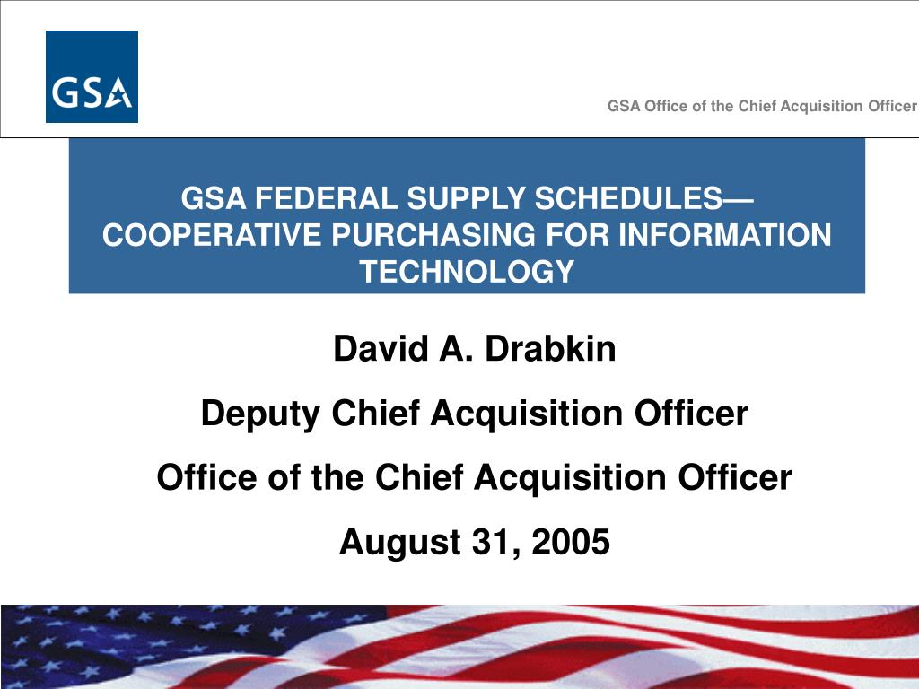 GSA Office of the Chief Acquisition Officer