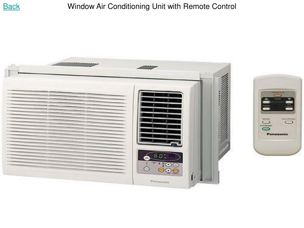 Window Air Conditioning Unit with Remote Control