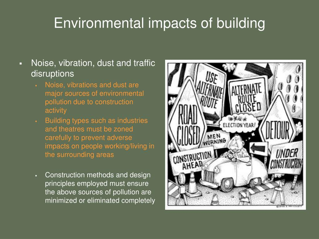 Environmental impacts of building