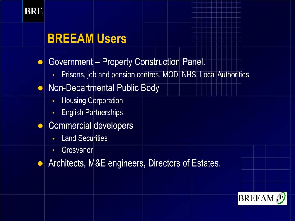 BREEAM Users