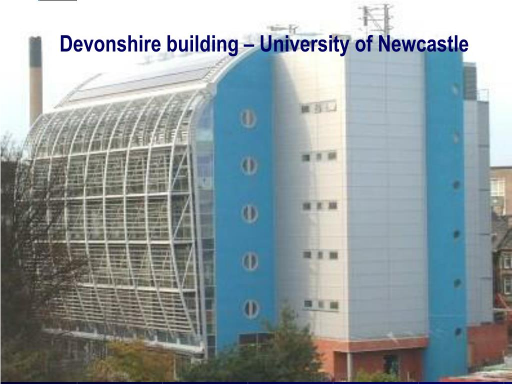 Devonshire building – University of Newcastle