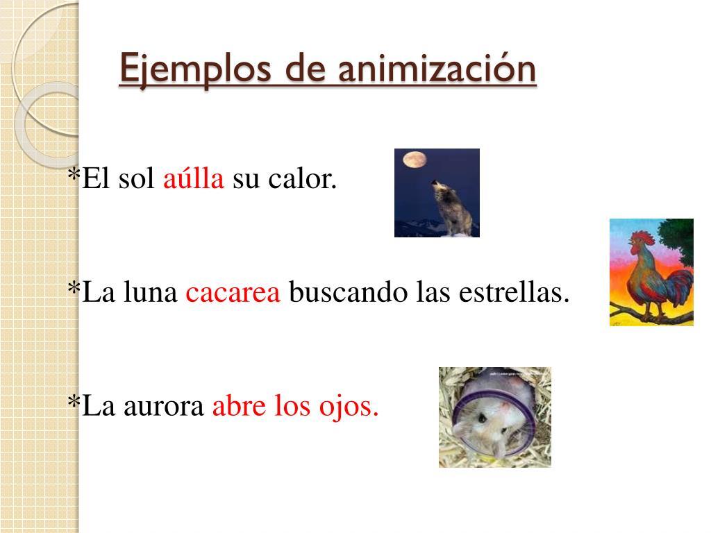 Ejemplos de