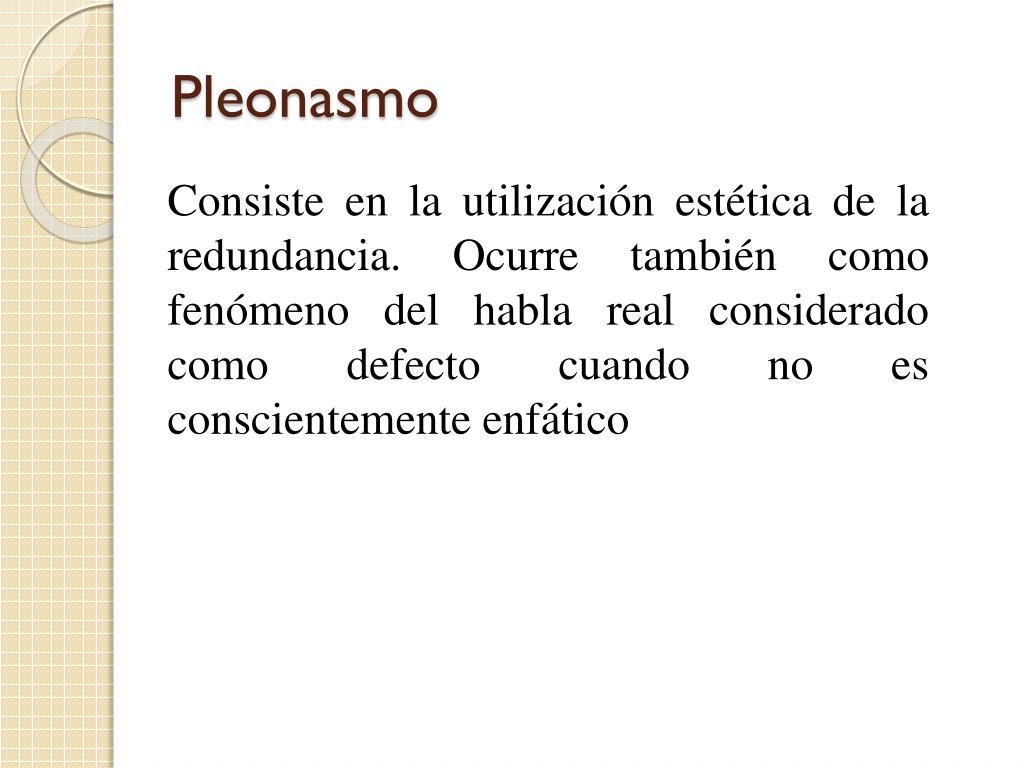 Pleonasmo