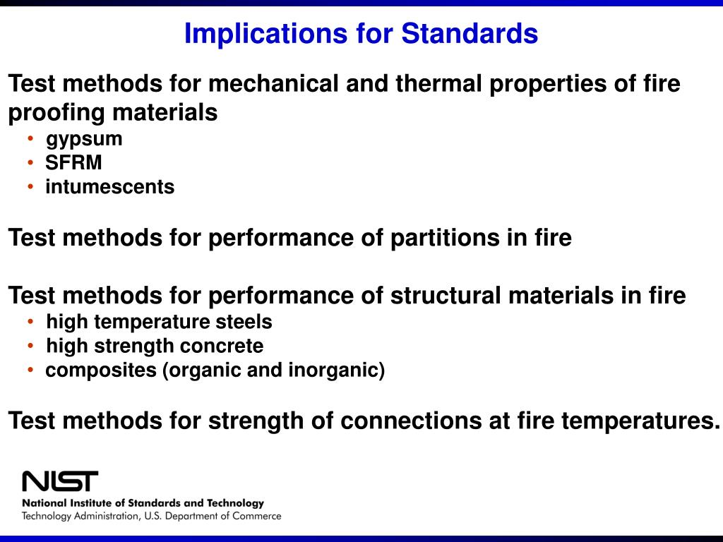Implications for Standards
