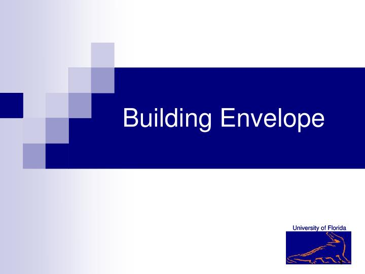 Building envelope