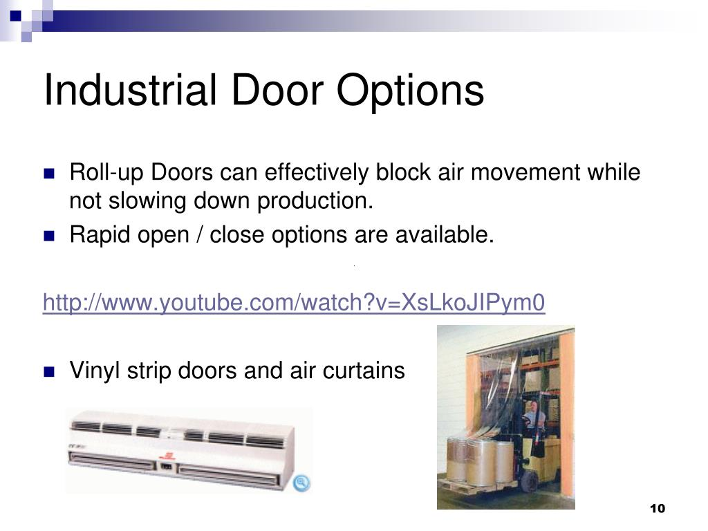 Industrial Door Options