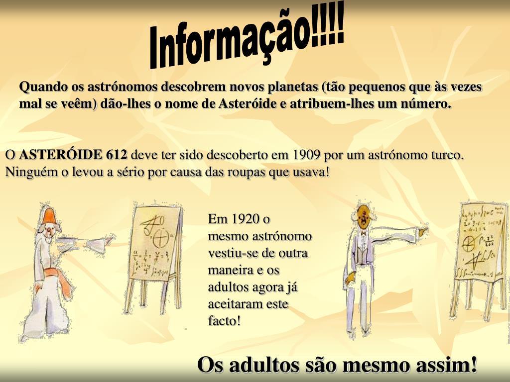 Informação!!!!