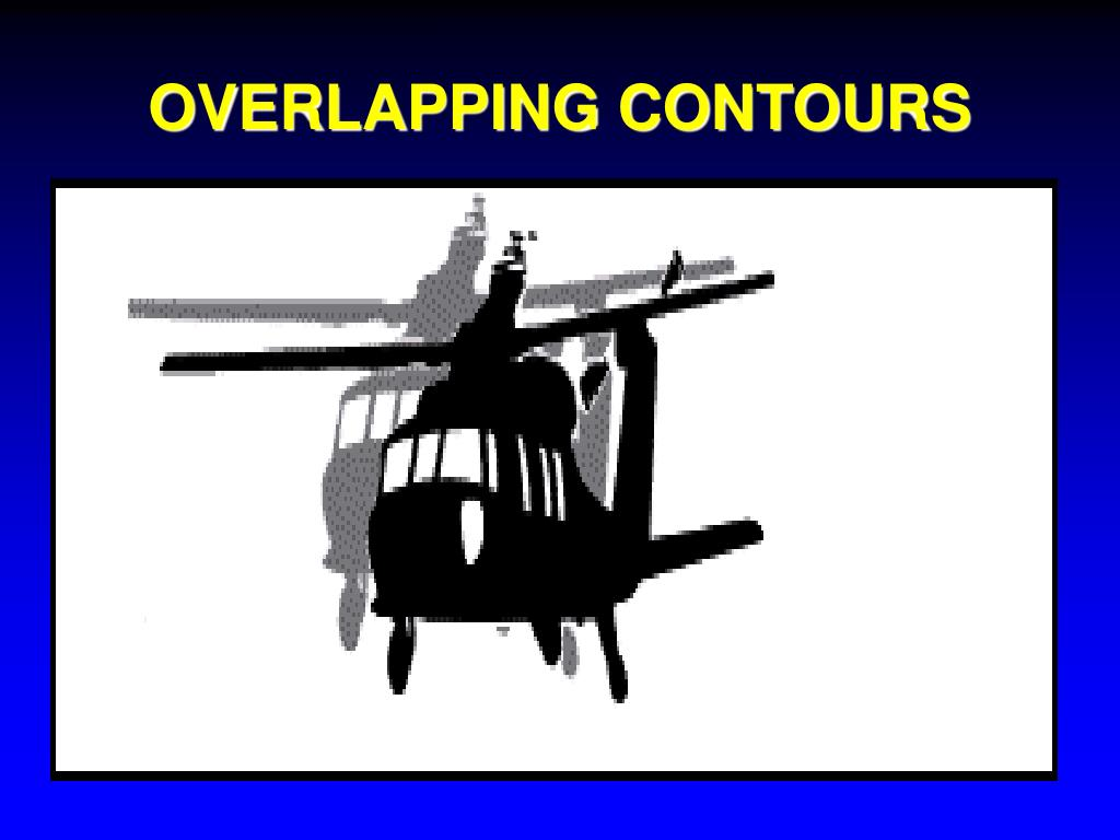 OVERLAPPING CONTOURS