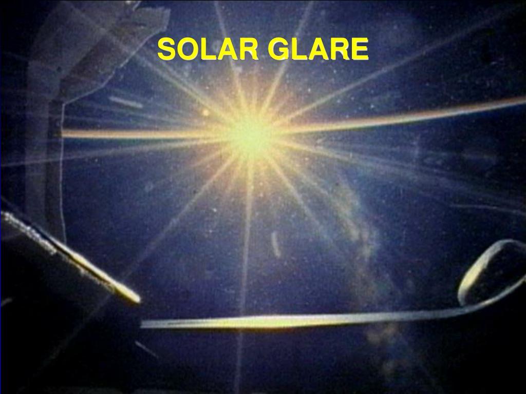SOLAR GLARE