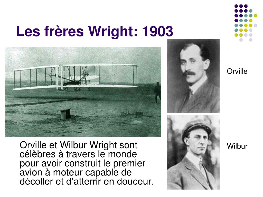 Les frères Wright: 1903