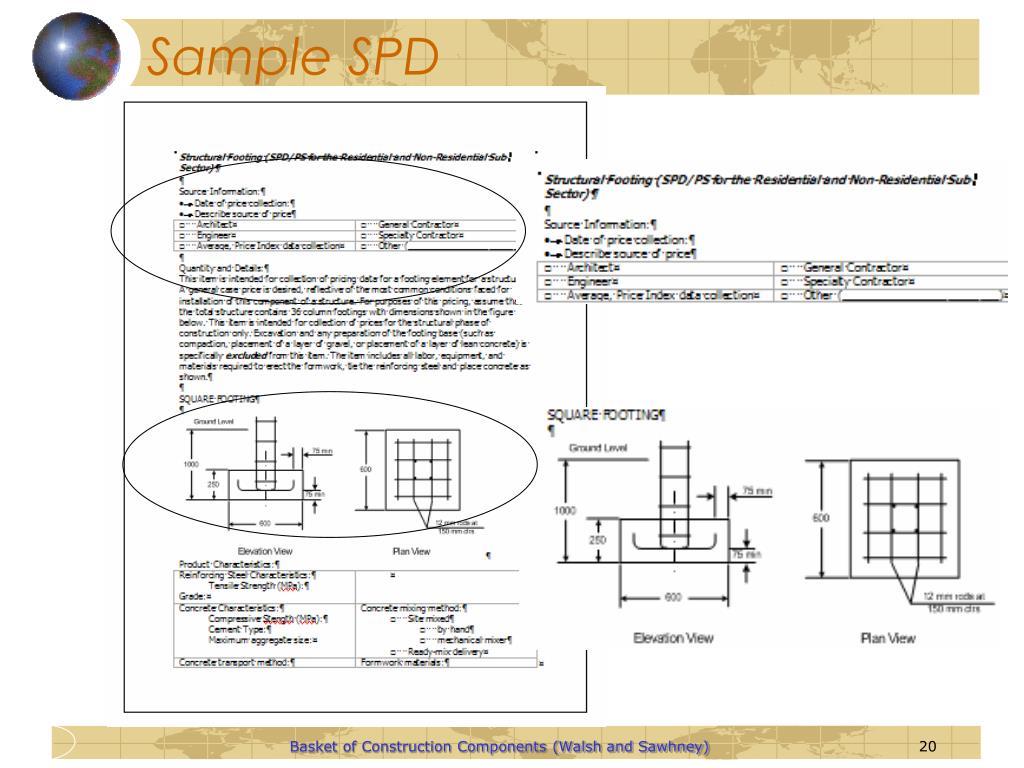 Sample SPD