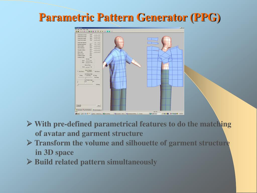 Parametric Pattern Generator (PPG)
