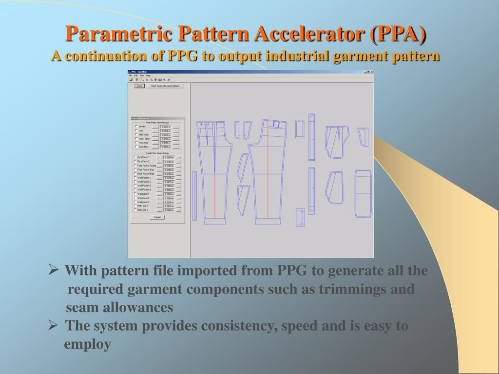 Parametric Pattern Accelerator (PPA)