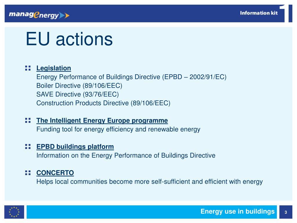 EU actions