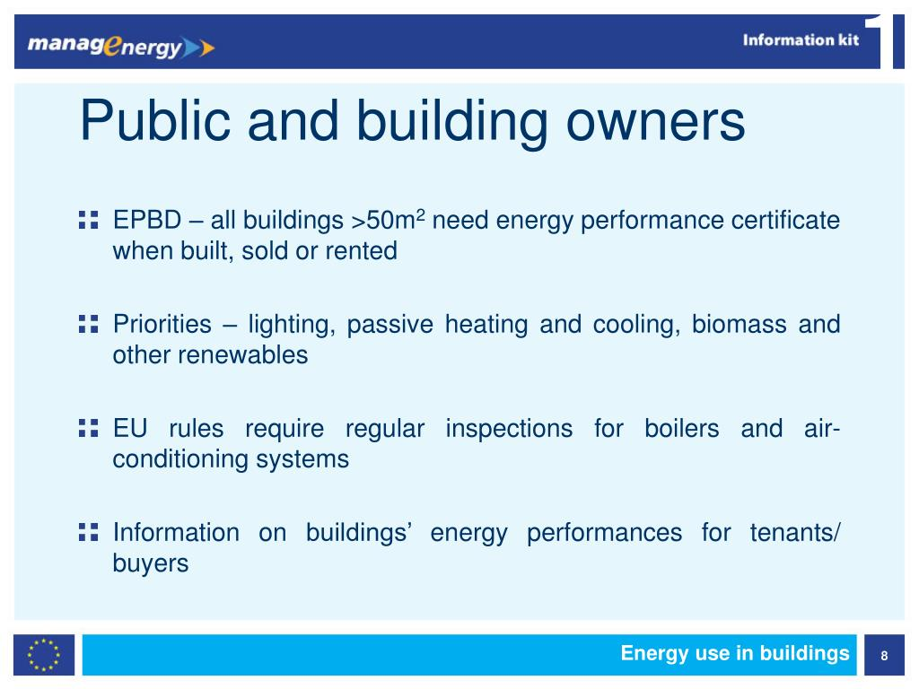 Public and building owners