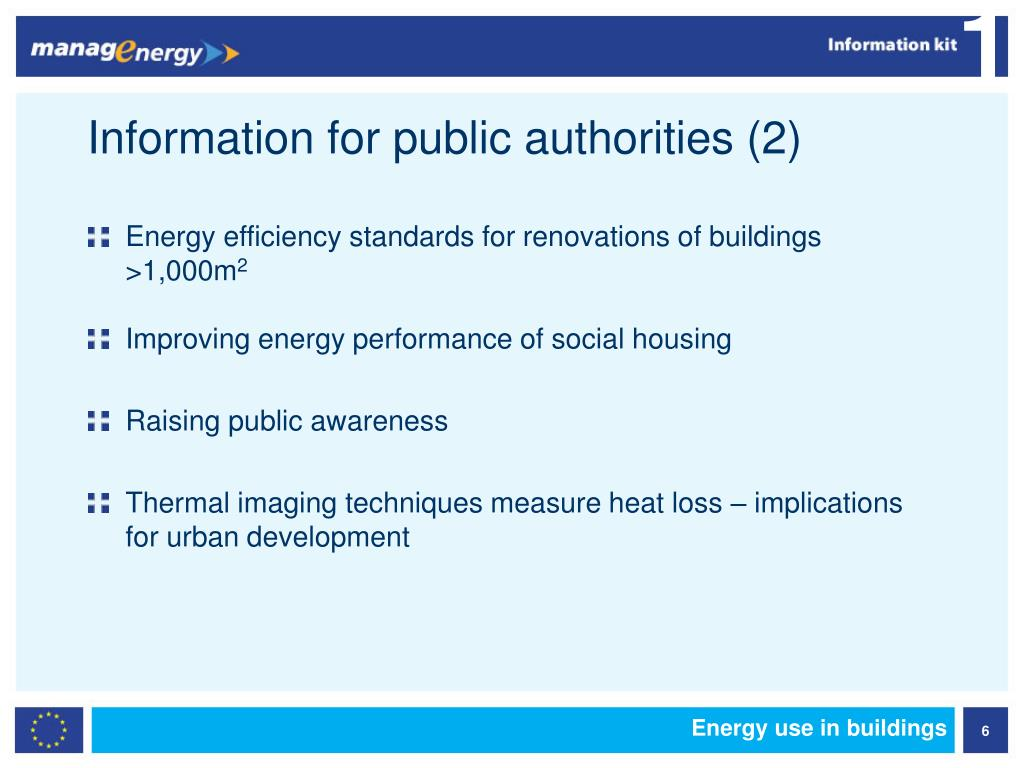Information for public authorities (2)