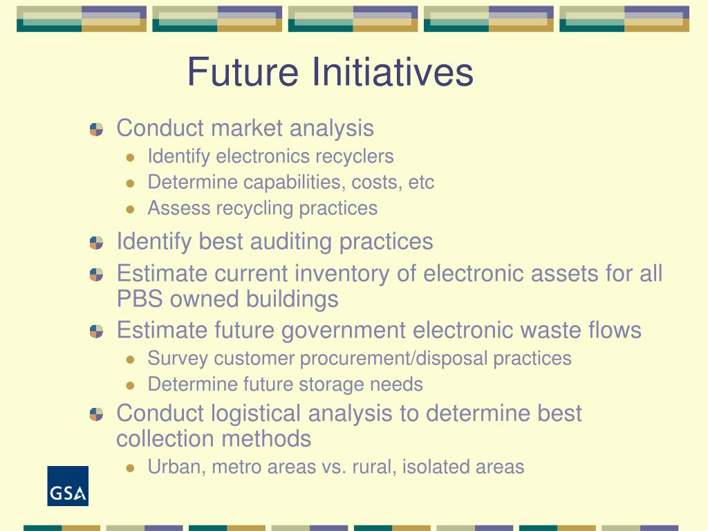 Future Initiatives
