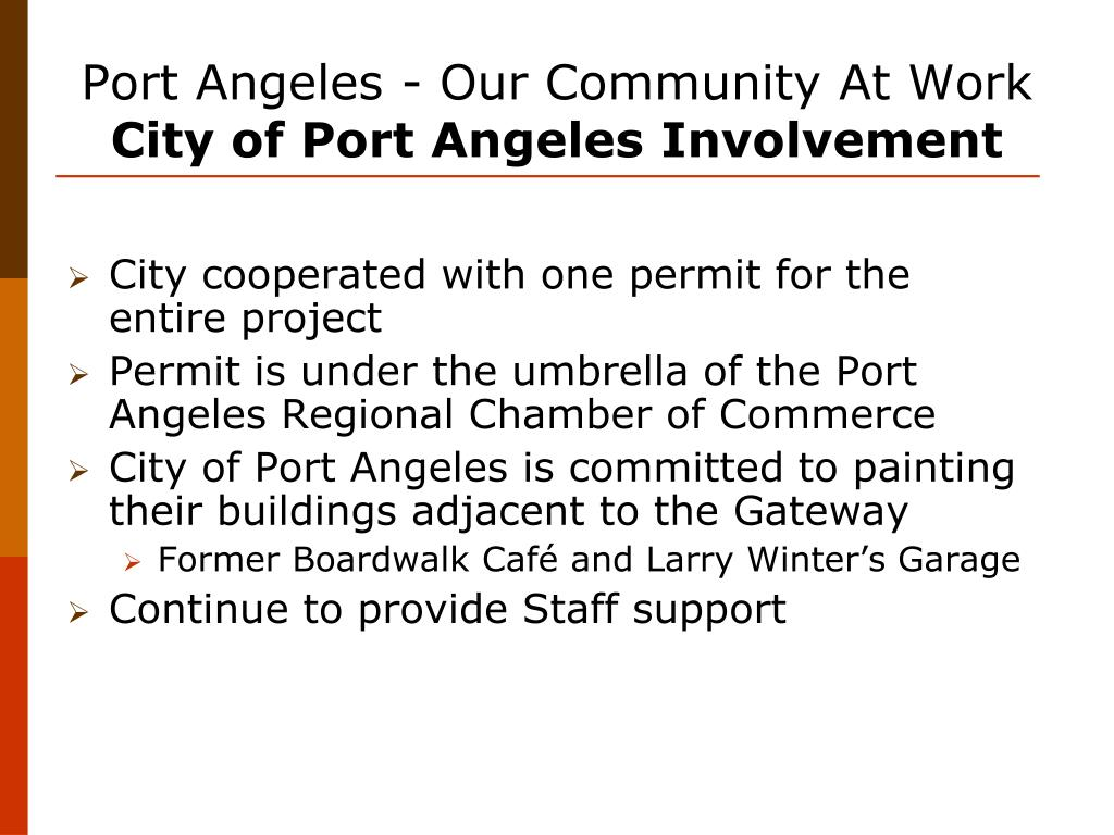 Port Angeles - Our Community At Work