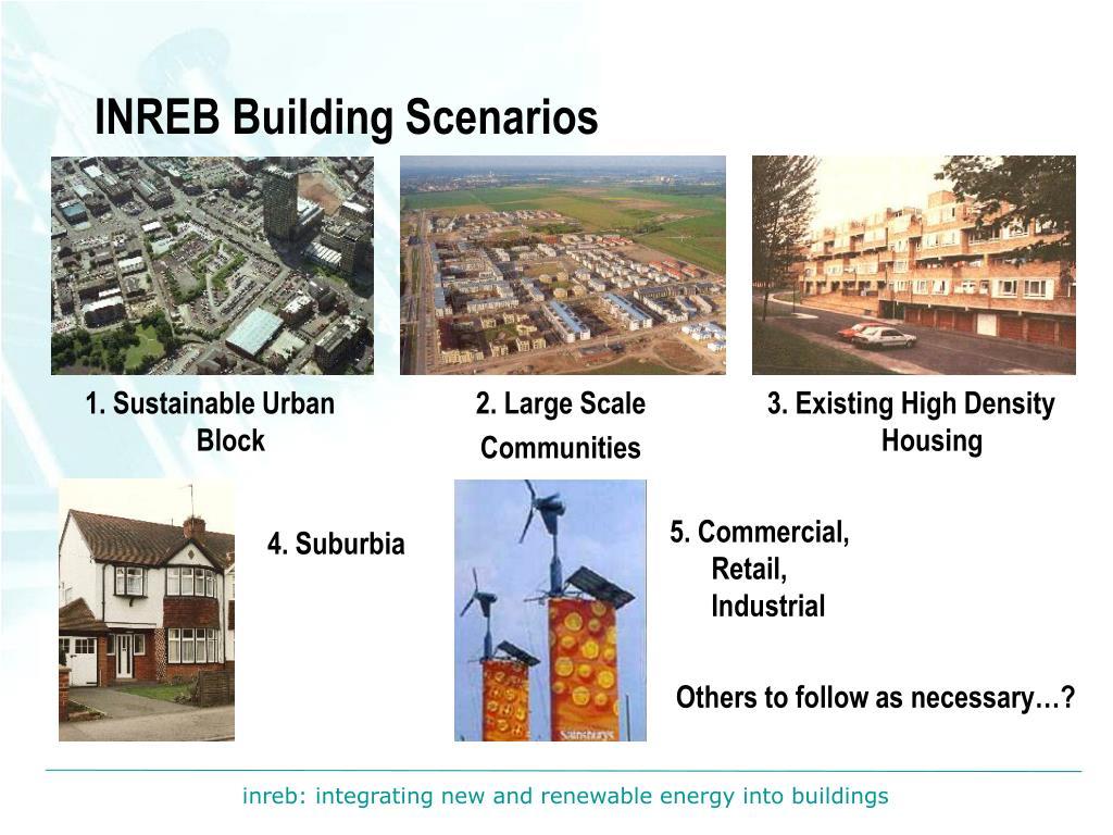 INREB Building Scenarios