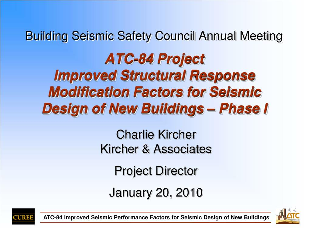 Building Seismic Safety Council Annual Meeting