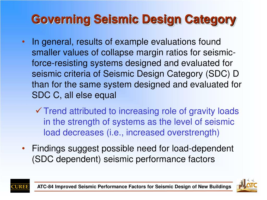 Governing Seismic Design Category